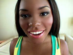 ballhoneys: Candice Nicole Black Beauty