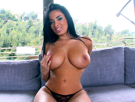 Big perfect tits latina natural boobs