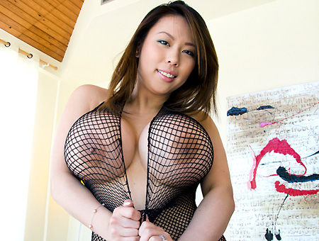 Asian With Huge Tits and A Fat Ass!