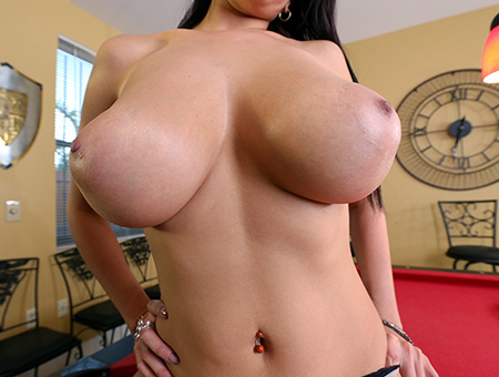 Sexy Latina With Huge Natural Tits Gets A Facial Big Tits, Round Asses