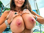 bigtitsroundasses:  Big Tits Ava Addams gets an Anal Excavation