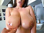 Bigtitsroundasses presents: Angela White's 32 double g tits are breathtaking