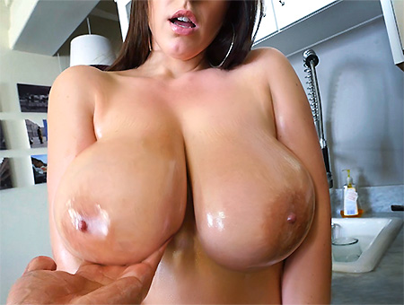 Angela White�s 32 Double G Tits Are Breathtaking  Big Tits, Round Asses