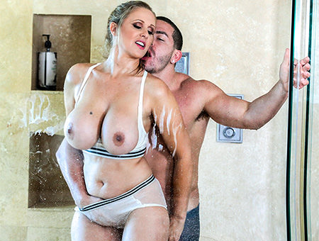 Fucking The Stepson In The Shower Big Tits, Round Asses