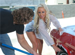 Pic of Savanah Gold in bigtitsroundasses episode: Savanah is ready to get wet!