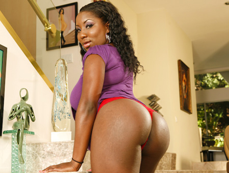 Big chocolate asses