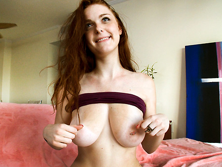 Quiet Redhead Fucks Loud!!! Big Tits, Round Asses
