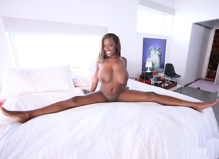 Big beautiful black tits