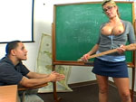 Pic of Brooke Haven in milflessons episode: Sex in the classroom