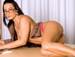 milflessons: Sandra Romain Anal