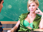 Pic of Kayla Synz in milflessons episode: Kayla the afterschool tutor