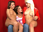 Pic of Partyofthree in Blazing Blondie