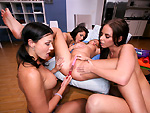 partyofthree: Anal Lesson w/ Rachel Starr
