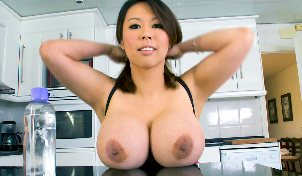 Asian Big Tits Bathroom