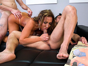 Penthouse Centerfold Fucks Her Stepson image 5