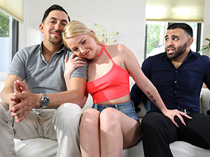 Dixie Lynn Fucks Stepdad and Uncle image 1