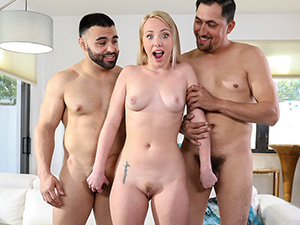 Dixie Lynn Fucks Stepdad and Uncle image 2